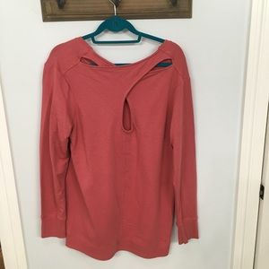 Coral lightweight tunic great for the beach.